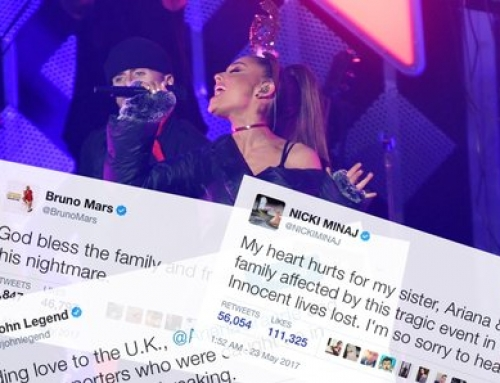 Stars Show Support For Ariana Grande And Victims Of Manchester Arena Bombing